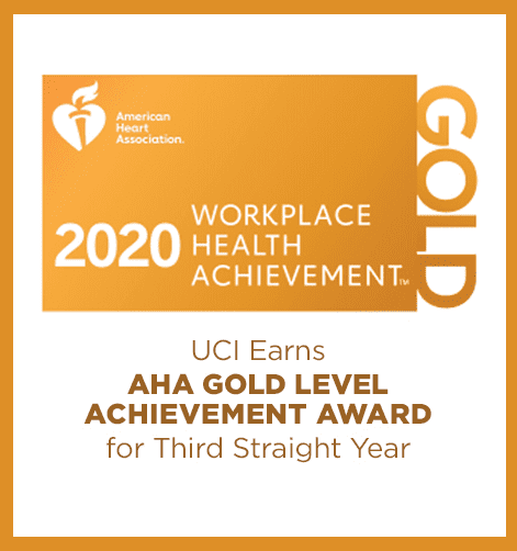 2020 Workplace Health Achievement Award for 3rd straight year