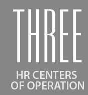 Three centers of operation